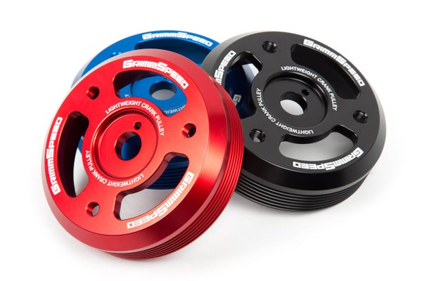Image of GRIMMSPEED LIGHTWEIGHT CRANK PULLEY - BRZ/FRS