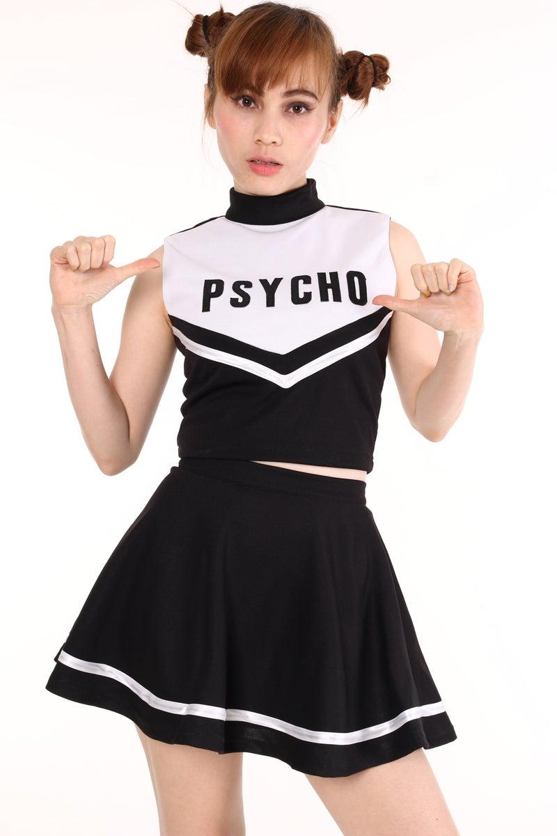 Team Psycho Cheerleading Set Glitters For Dinner