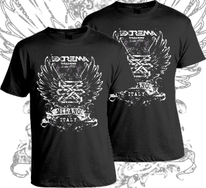 """Image of Extrema """"Old School""""  T - Shirt"""