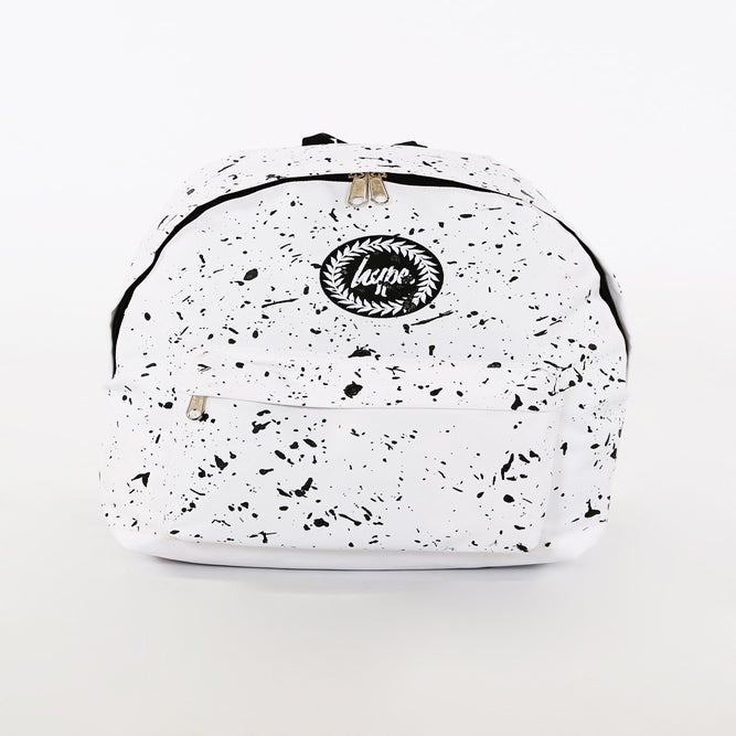 Image of HYPE. WHITE SPLAT BAG