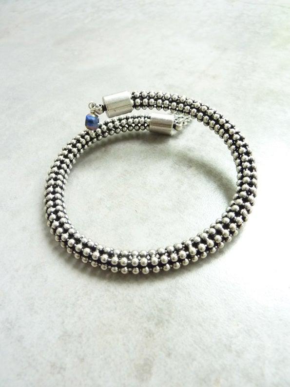 Image of Bracelet mémoire BOREAL ARGENT -50%