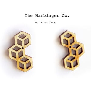 Image of Triple Cube Studs