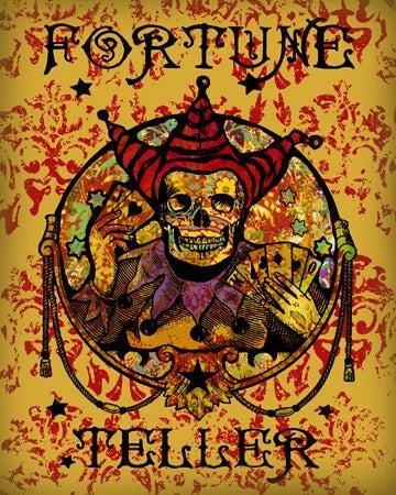 Image of Fortune Teller Vintage Print