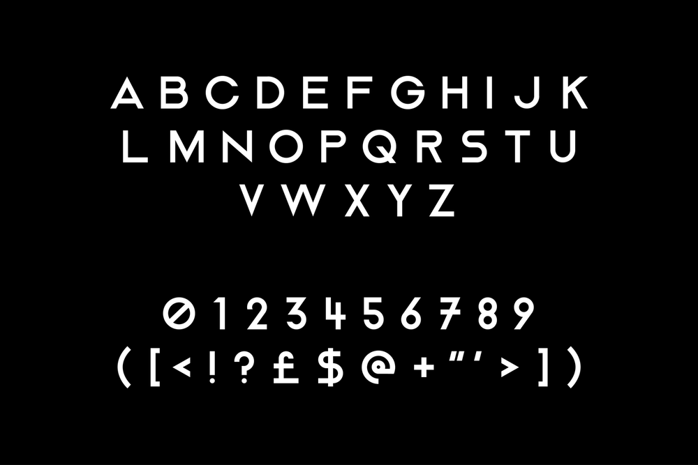 Image of Crate Sans Typeface