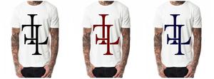 "Image of T-Shirt ""LF"", white"