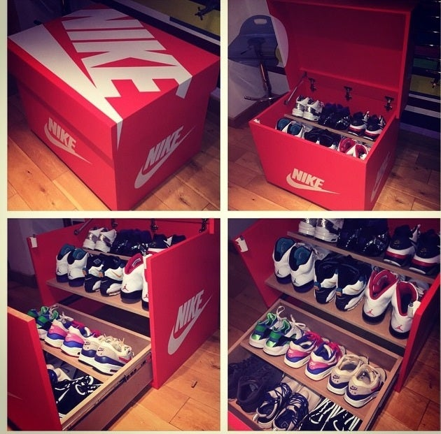 Shoe Box Shoe Storage For Sale