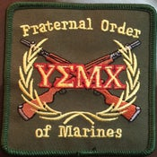 Image of PATCH..FRATERNAL ORDER OF MARINES
