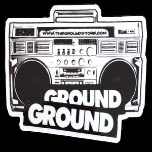 Image of GROUND - sticker