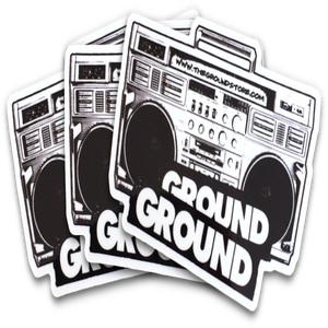 Image of GROUND - 3 stickers