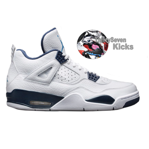"Image of Jordan Retro 4 ""Columbia"""