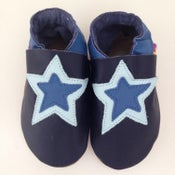 Image of Star Leather Baby Shoes
