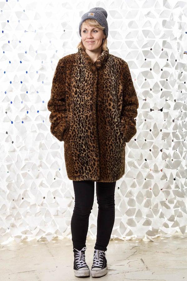 Image of Vintage Faux Fur Foxy leo
