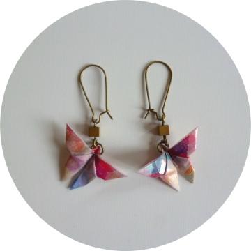 "Image of Boucles d'oreilles ""origami"""