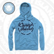 Image of JCI Fly High - legend Blue Hoodie - Navy White Print