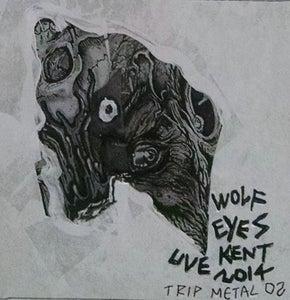 """Image of WOLF EYES """"LIVE KENT 2014"""" TRIP METAL 02"""
