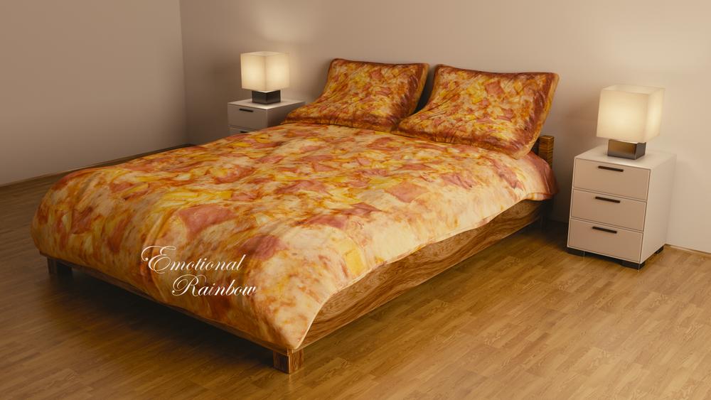 Image of HAWAIIAN PIZZA BEDDING