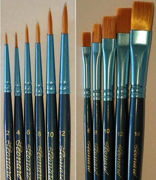 Image of Pinselset 4-teilig, 6-teilig, 8-teilig, und 10-teilig / Set of Brushes