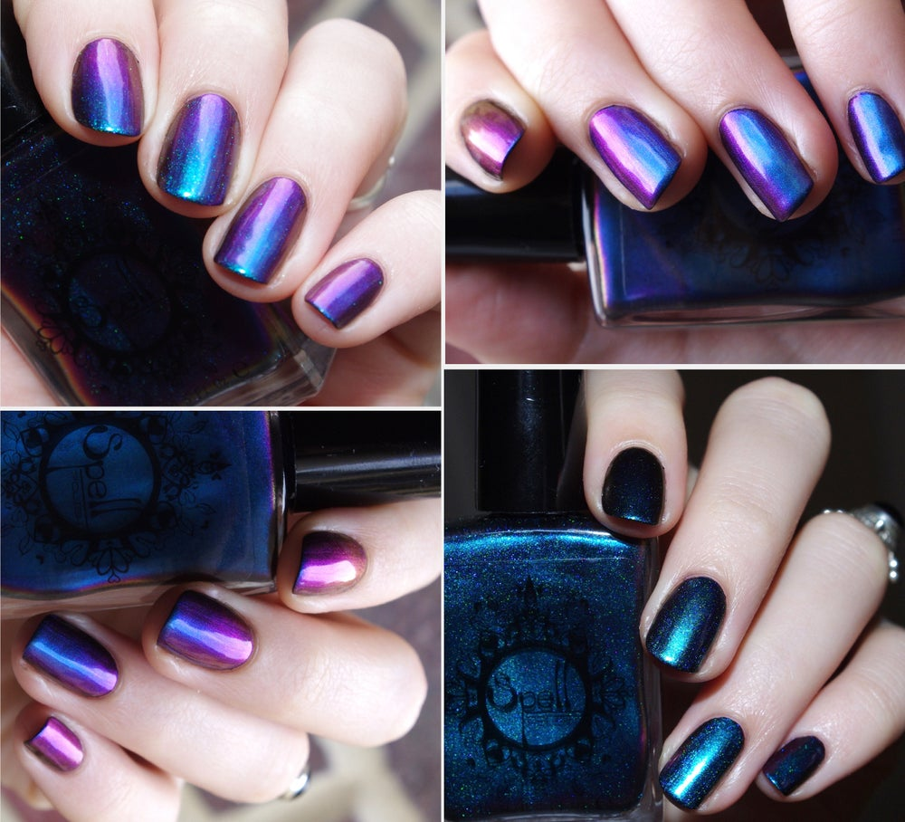 Image of Magichromes™ SPELL POLISH ~Unchartered Waters~ color shifting nail polish