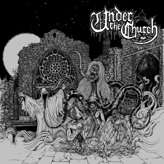 "Image of UNDER THE CHURCH ""Under The Church"" 10"" EP"