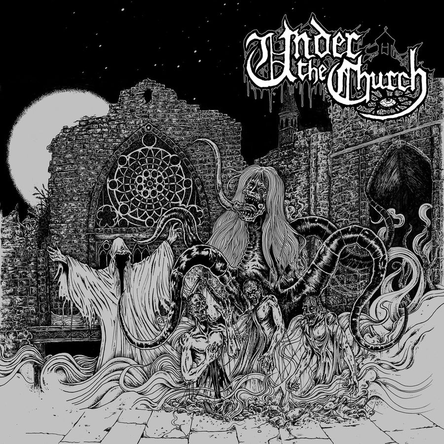 """Image of UNDER THE CHURCH """"Under The Church"""" 10"""" EP (Red Vinyl)"""