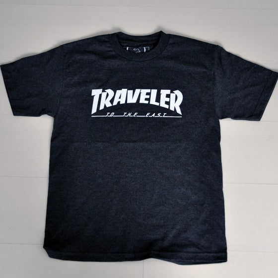 Image of The 'Traveler' Charcoal T-shirt