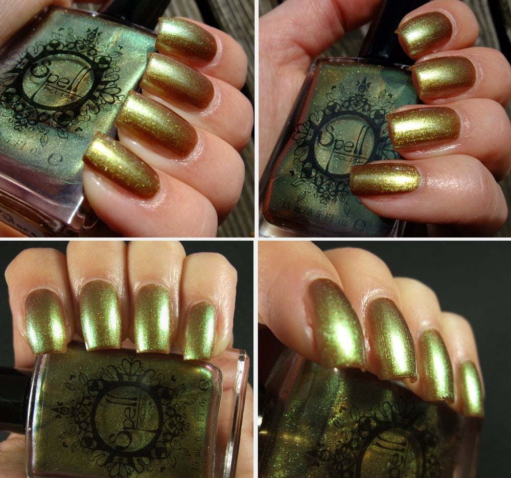 Image of Magichromes™ SPELL POLISH ~Swinging Through Stars~ color shifting nail polish
