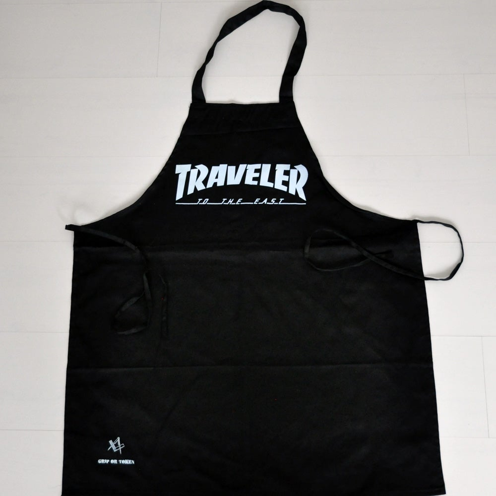 Image of The 'Traveler' Black Apron
