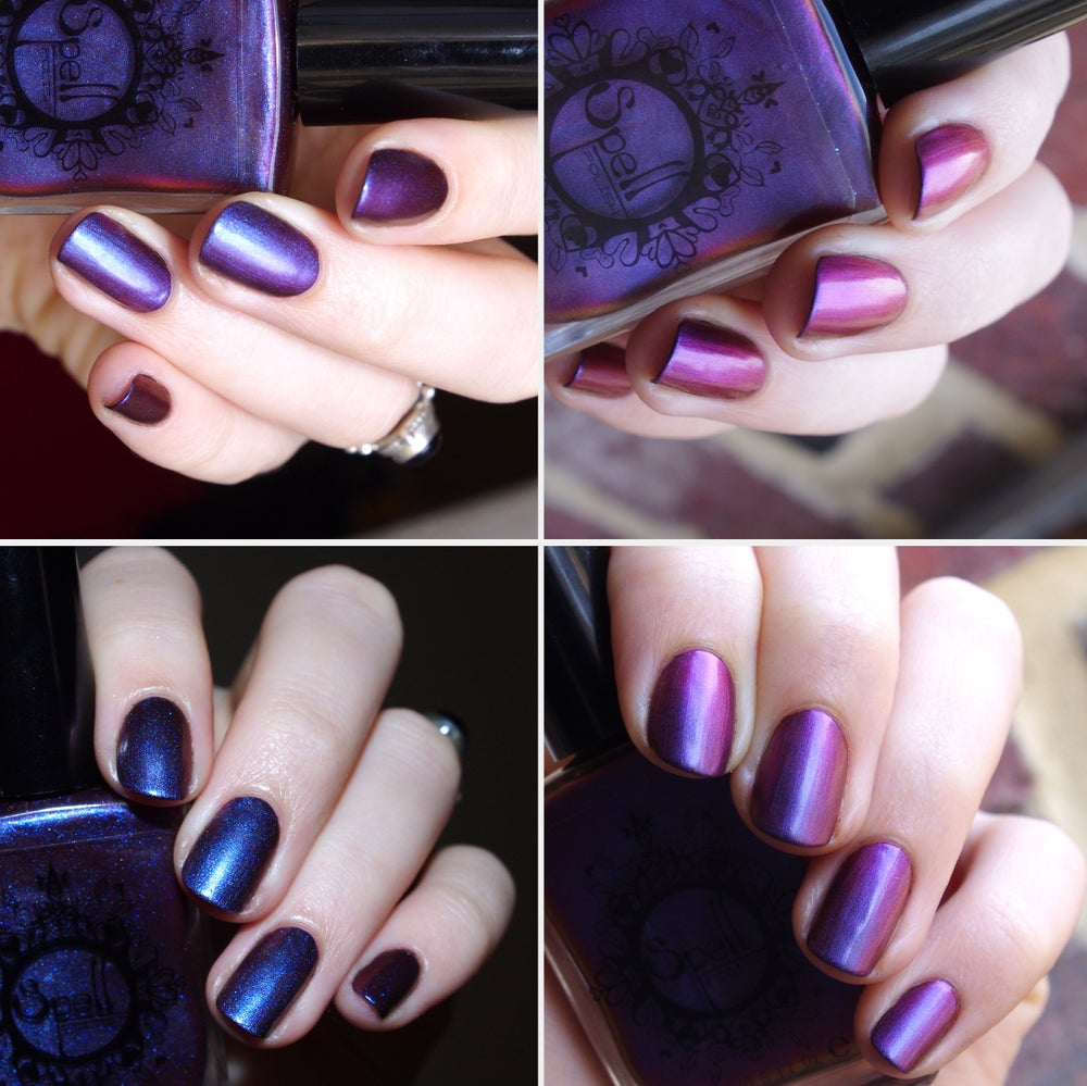 Image of Magichromes™ SPELL POLISH ~Smile Transference~ color shifting nail polish