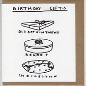 Image of birthday gifts card
