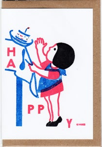 Image of HAPPY! card