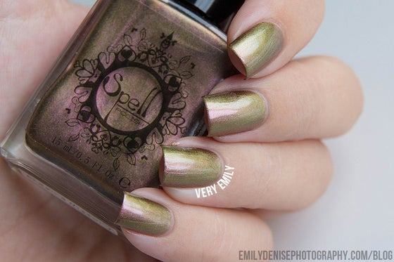 Image of Magichromes™ SPELL POLISH ~Erasing History~ color shifting nail polish