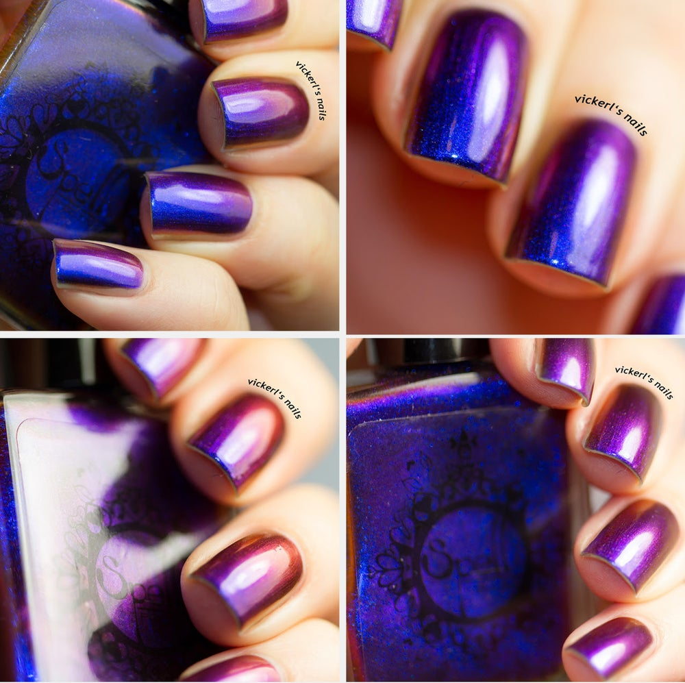 Image of Magichromes™ SPELL POLISH ~Chasing Our Shadows~ color shifting nail polish