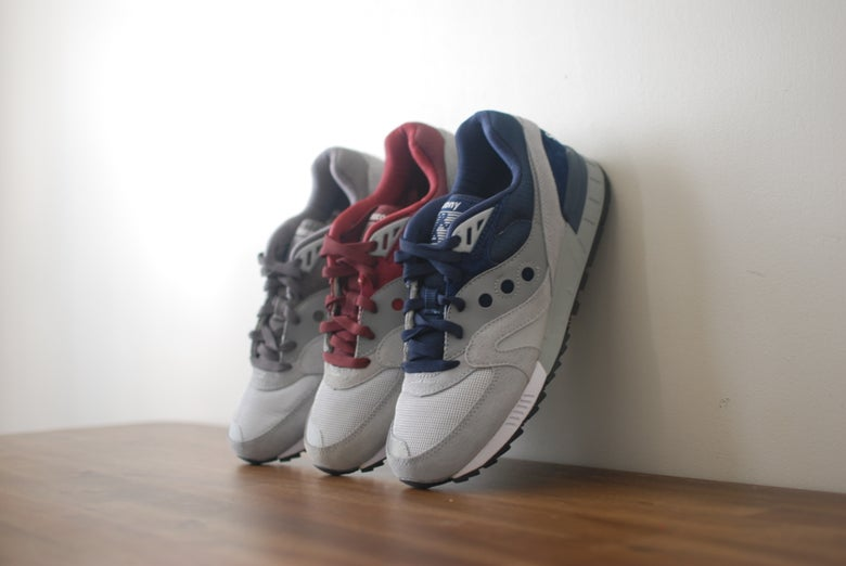 Image of Saucony Shadow Master Grey Pack
