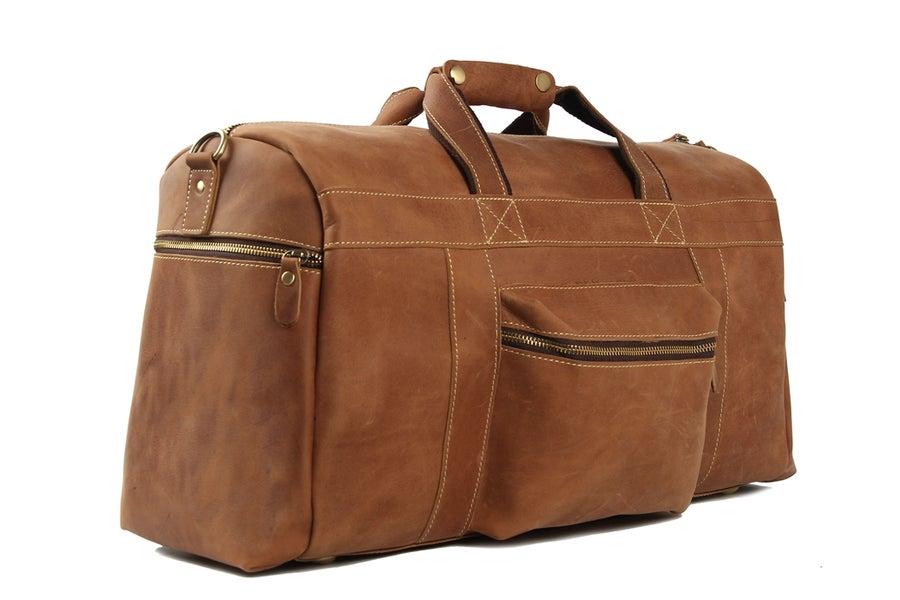 Image of 22'' Super Large Duffle Bag, Laptop Bag, Weekend Bag, Overnight Bag, Men's Travel Bag1098