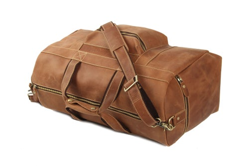Image of 22'' Super Large Duffle Bag, Laptop Bag, Weekend Bag, Overnight Bag, Men's Travel Bag1098
