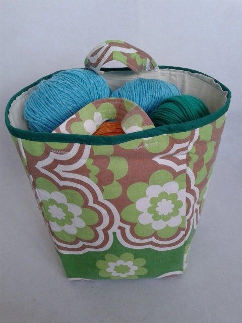 Image of 'Green retro' boxbag