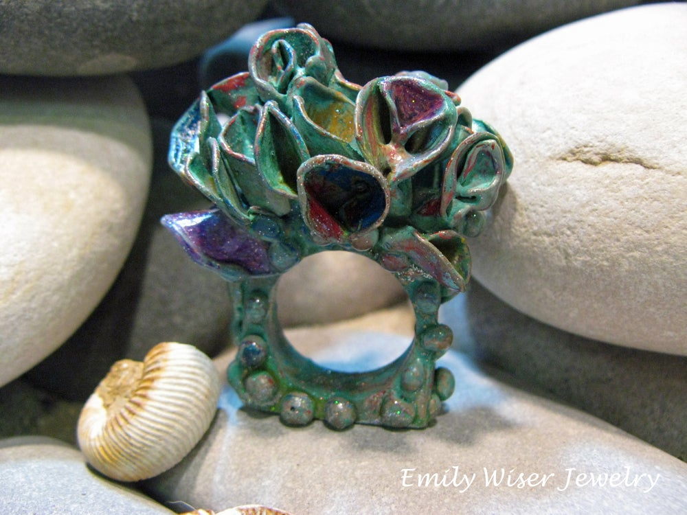 Image of Wild Growth Art Ring. Sold