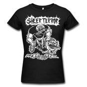 "Image of SHEER TERROR ""Bulldog Walker Ugly & Proud"" Girlie Shirt"