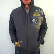 Image of SALE GOLD koi Hoodie small and Large