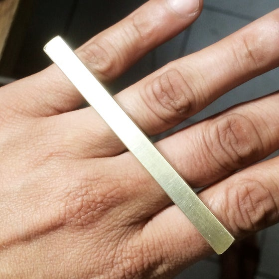 Image of brass knuckle long