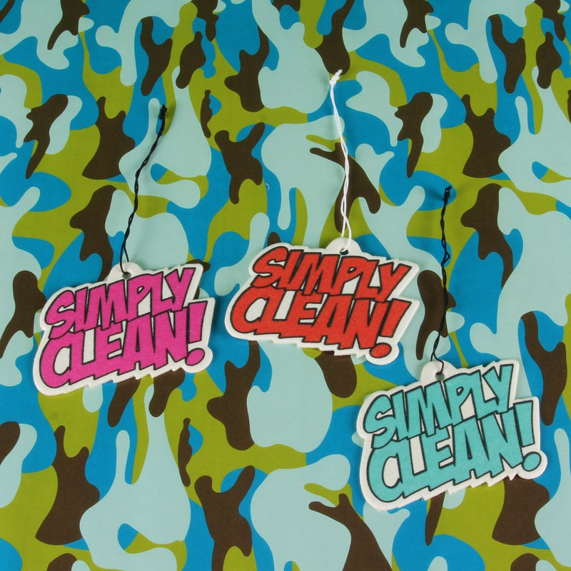 Image of Simply Clean Comic Air Freshener