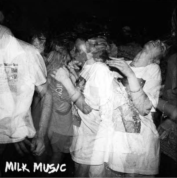Image of MILK MUSIC- BEYOND LIVING LP/CD - prnl010 - euro cd out now.