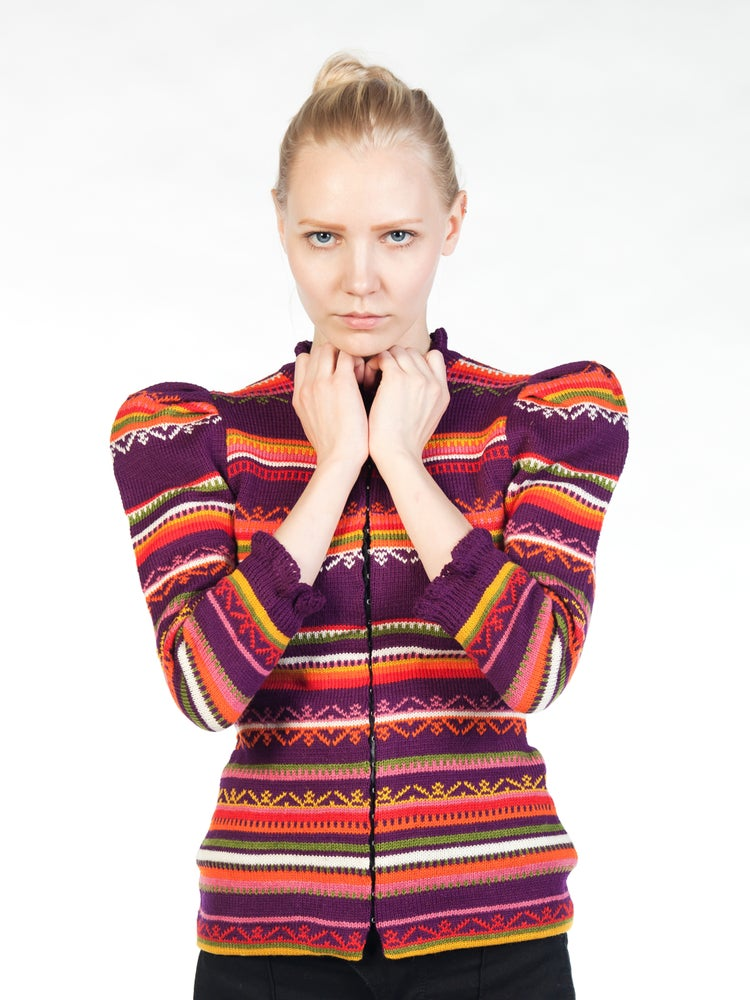 Image of LIINA aubergine