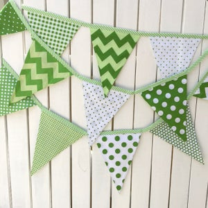 Image of St. Patricks Day Bunting/Flags