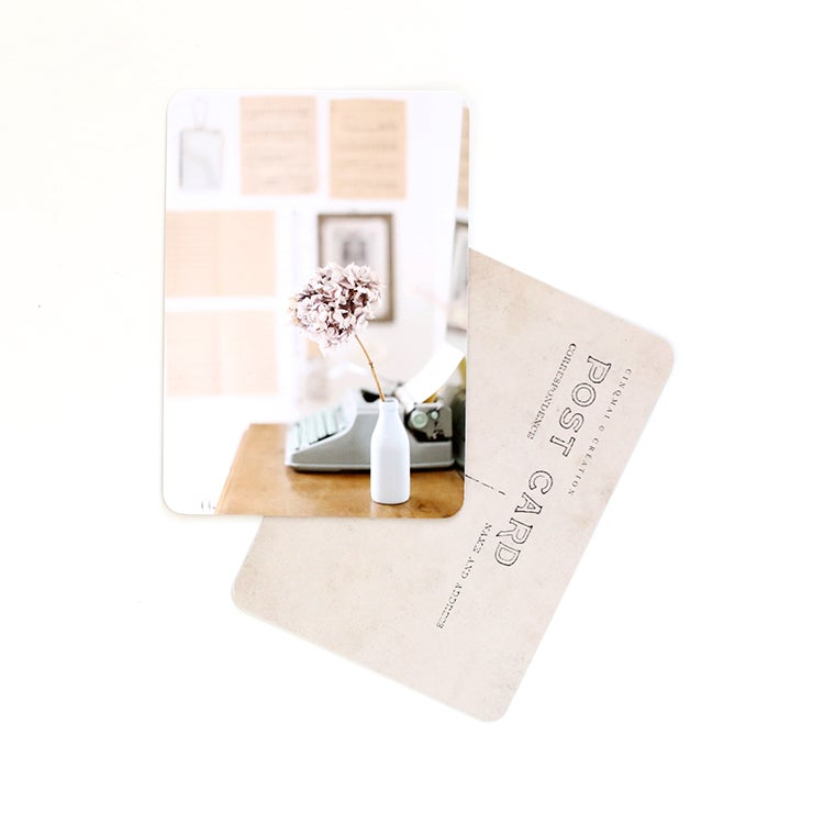 Image of Carte Postale AT HOME / MY ROOM