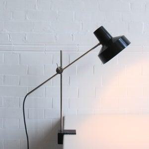 Image of Bakelite and Nickel Clamp light