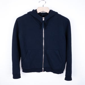 Image of Damir Doma Silent - Navy Tax Hoodie
