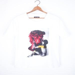 Image of Raf Simons - Inset Sculpture Graphic Tee