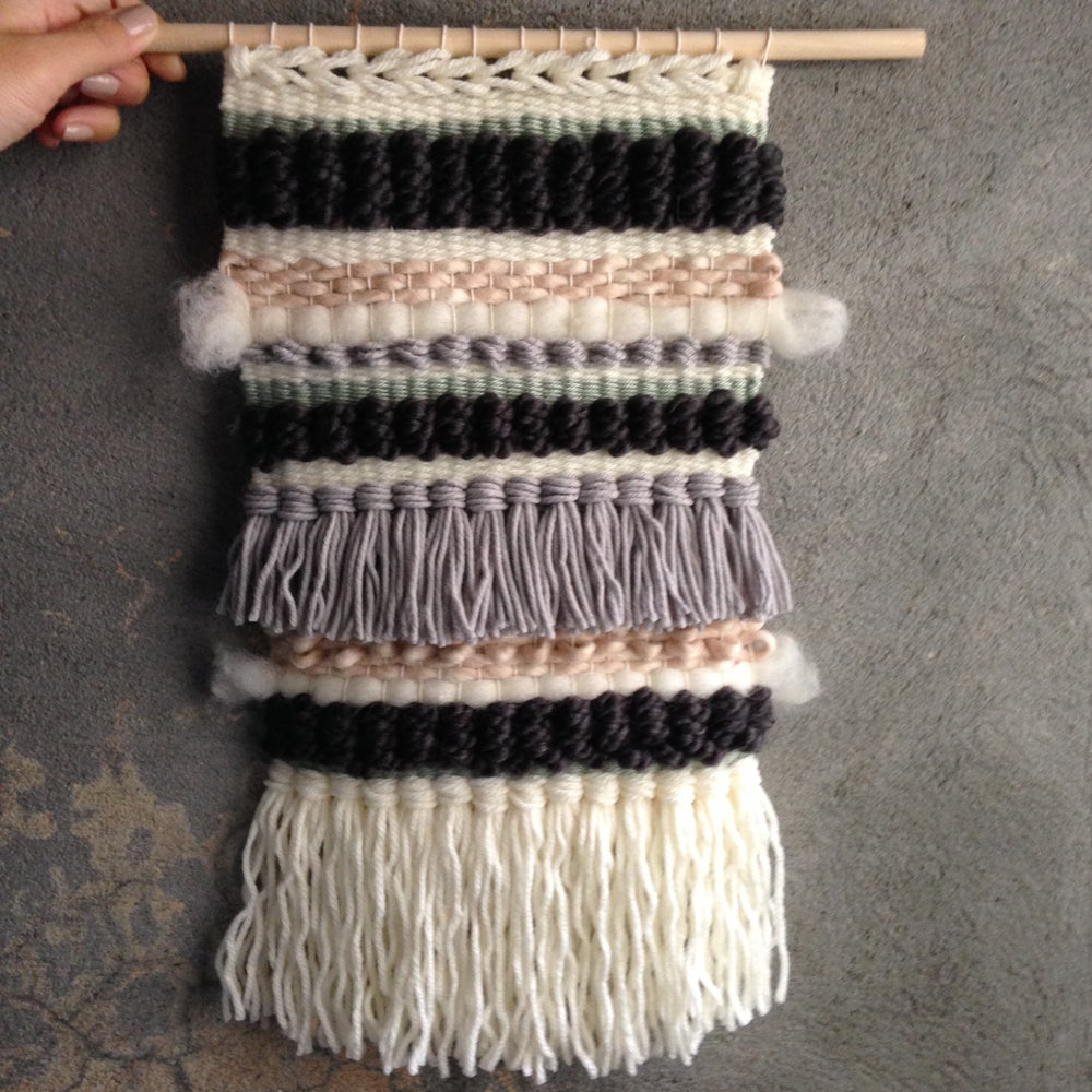Image of Handmade Tapestry Wall Weaving 13