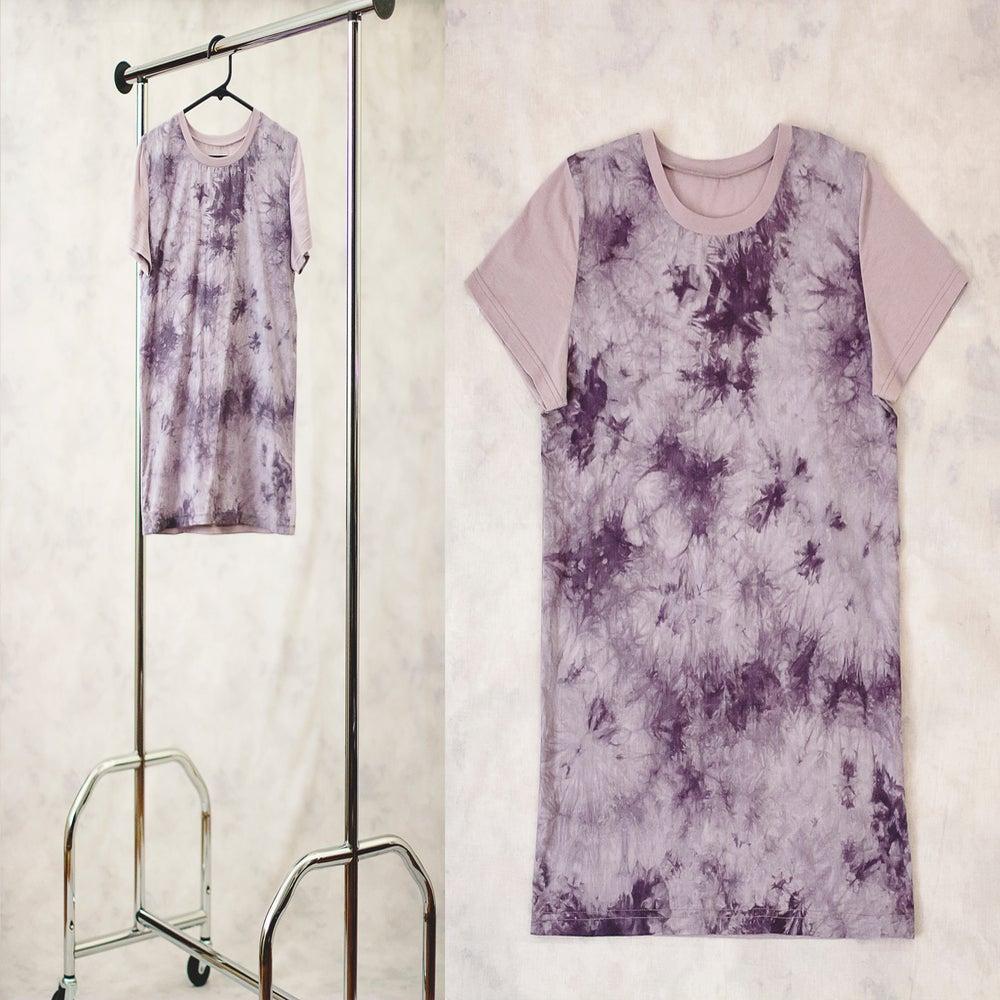 Image of Grey Pattern T-Shirt